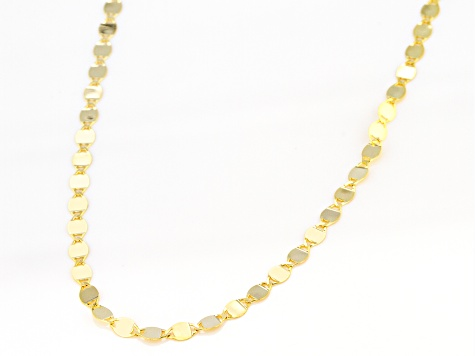 10k Yellow Gold Valentino 24 inch Necklace