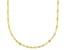 10k Yellow Gold Polished Mirror Link 24 Inch Necklace