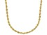 10K Yellow Gold 2MM Diamond Cut Rope Chain Necklace 22 Inch