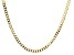 10K Yellow Gold Flat Curb Necklace 20 Inches