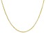 10K Yellow Gold Rolo Necklace 24 Inches