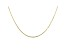 10K Yellow Gold Mirror Cable Necklace 20