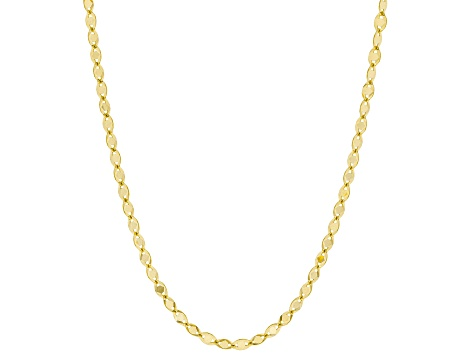 10K Yellow Gold Valentino Star Necklace 18""