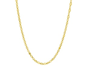 "10K Yellow Gold Valentino Star Necklace 20""."