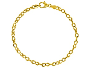 10k Yellow Gold Rolo Bracelet