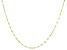 10k Yellow Gold 1.5mm Designer Lumina Link Necklace 20 Inches