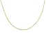 10K Yellow Gold Foxtail Chain Necklace 20 inch