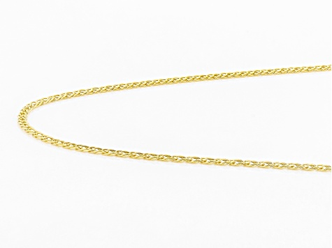 10k Yellow Gold Marquise Necklace 20 Inches