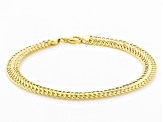 10k Yellow Gold Infinity Bracelet