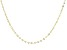 10K Yellow Gold 3.30MM Cable Link 18 Inches Necklace