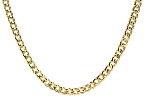 10k Yellow Gold Grumette Necklace 20 Inches