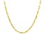 10k Yellow Gold Mariner Chain Necklace 18 inch