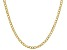 10K Yellow Gold 3.25MM Curb Chain Necklace 20 Inches