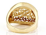 10KT Yellow Gold Filagree Ring