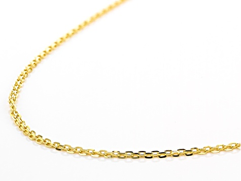 10K Yellow Gold 1.90MM Bismark Chain Necklace 20 Inch