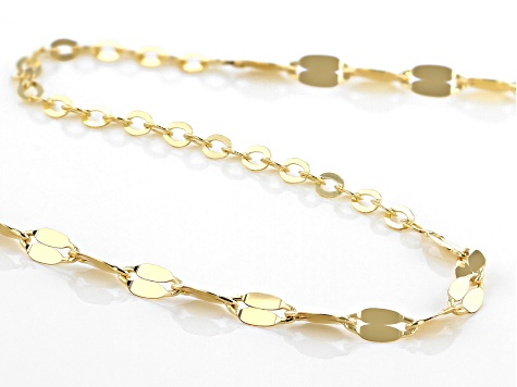 10K Yellow Gold 32 Inch Necklace