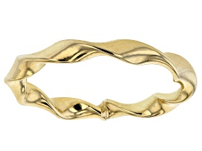 10k Yellow Gold Ribbon Ring