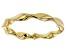 10k Yellow Gold Ribbon Ring