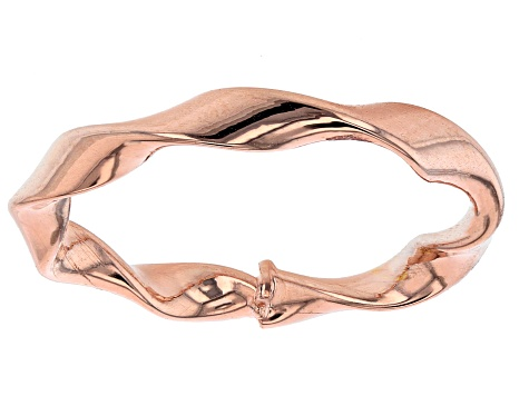 10k Rose Gold Ribbon Ring