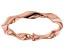 10k Rose Gold Ribbon Ring
