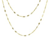 10k Yellow Gold Tuscan Sun Set 18 inch and 20 inch Necklaces