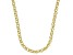 10K Yellow Gold 3.35MM Diamond-Cut Spiga 20 Inch Necklace