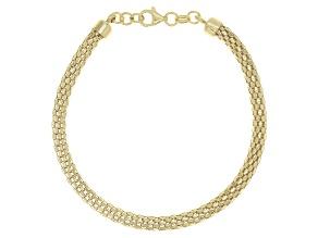 10K Yellow Gold 4.12MM Round Avalon Bracelet