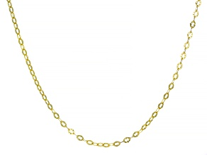 10K Yellow Gold 2.70MM Cable Chain 20 Inch Necklace