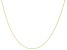 10K Yellow Gold 0.70MM Twisted Rolo Chain 22 Inch Necklace
