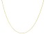 10K Yellow Gold 0.70MM Twisted Rolo Chain 24 Inch Necklace