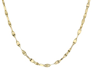 """Picture of 10K Yellow Gold 2.05MM 18"""" Valentino Necklace"""