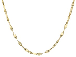 "10K Yellow Gold 2.05MM 18"" Valentino Necklace"