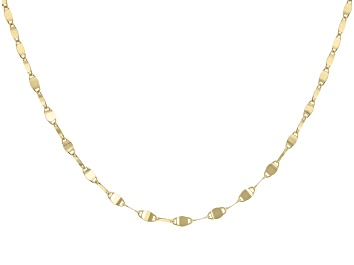 """Picture of 10K Yellow Gold 2.05MM 20"""" Valentino Necklace"""