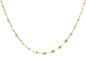 "10K Yellow Gold 2.05MM 20"" Valentino Necklace"
