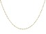 "14K Yellow Gold 1.10MM 20"" Singapore Chain Necklace"