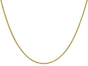 14K Yellow Gold 0.77MM Diamond Cut 18