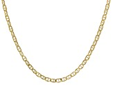 14k Yellow Gold 1.80mm 18 inch Mariner Link Chain Necklace