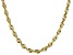 """10K Yellow Gold 3.30MM Solid 20"""" Rope Chain"""
