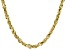 """10K Yellow Gold 3.30MM Solid 22"""" Rope Chain"""