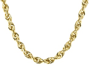 10K Yellow Gold Hollow 22