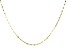 "10K Yellow Gold 20"" Valentino Necklace"