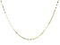 "10K Yellow Gold 24"" Valentino Necklace"