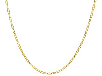 Picture of 10K Yellow Gold 1.75MM Twisted Mariner Chain 18 Inch Necklace