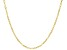10K Yellow Gold 1.75MM Twisted Mariner Chain 18 Inch Necklace