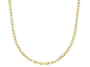 10K Yellow Gold 1.4MM Mirror Rolo Chain 18 Inch Necklace
