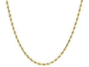 10K Yellow Gold 2.5MM Rope Chain