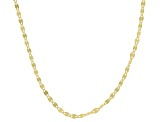 10K Yellow Gold 1.9MM Flat Mirror Chain
