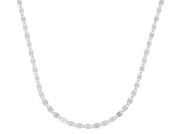 Picture of 10K White Gold 1.9MM Flat Mirror Chain