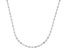 10K White Gold 1.9MM Flat Mirror Chain