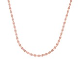 10K Rose Gold 1.9MM Flat Mirror Chain